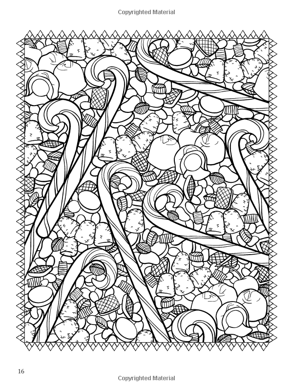 ChristmasScapes (Dover Holiday Coloring Book
