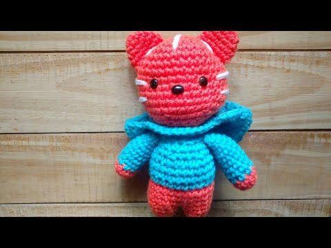 Amigurumi Gato Paso A Paso : Gato tejido a crochet paso a paso amigurumi youtube sigan el