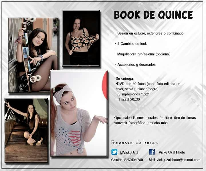 Book de quince