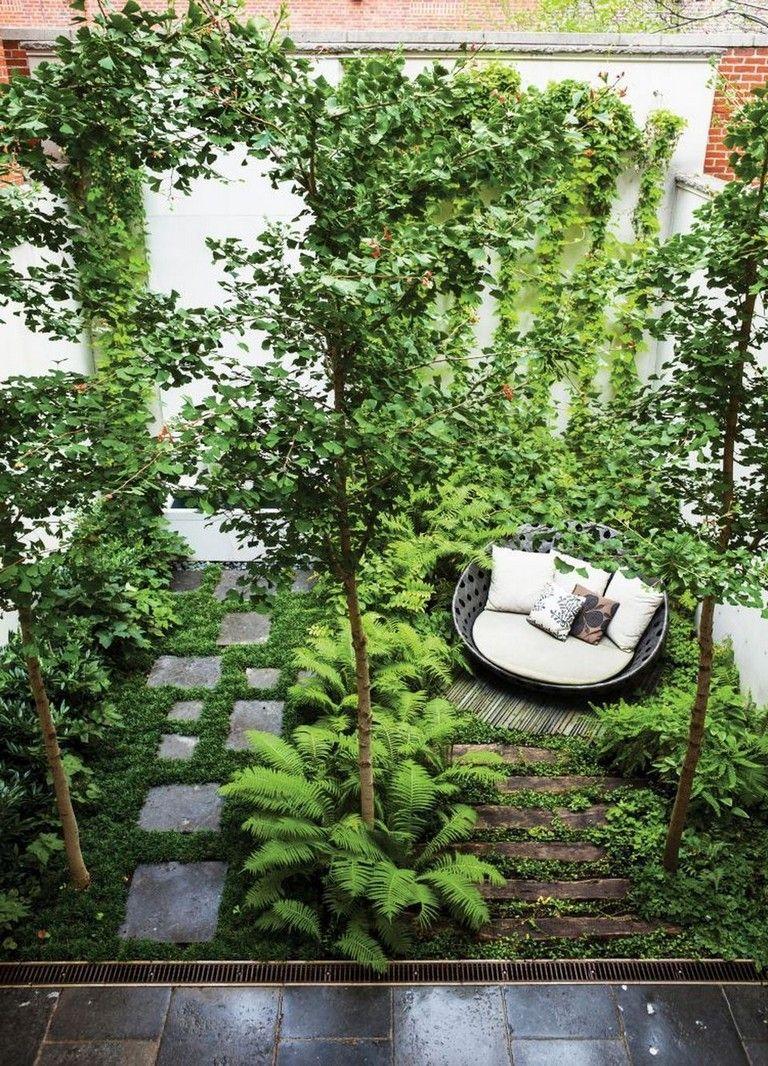 115 Lovely Small Courtyard Garden With Seating Area Design Gardens Gardenideas Gardeningtips Ga Courtyard Gardens Design Courtyard Garden Small Courtyards