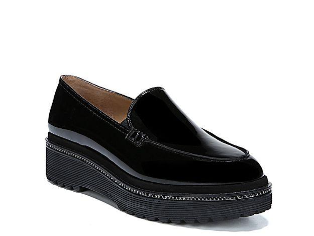 341188c96a72 Women Static Platform Loafer -Black Clark Loafers