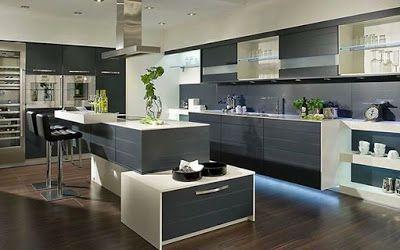 Contemporary Open Kitchen Designs - Home Interior Designs