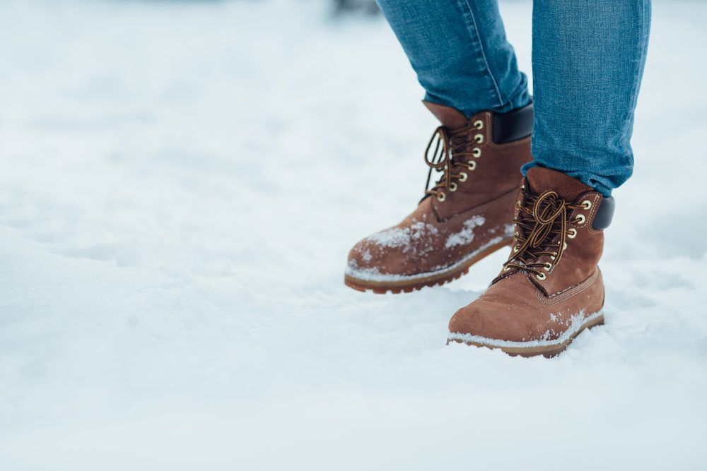 Stylish winter boots, Mens snow boots