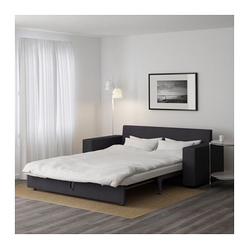 vilasund 3er bettsofa dansbo dunkelgrau ikea einrichtung m bel sofa und ikea. Black Bedroom Furniture Sets. Home Design Ideas