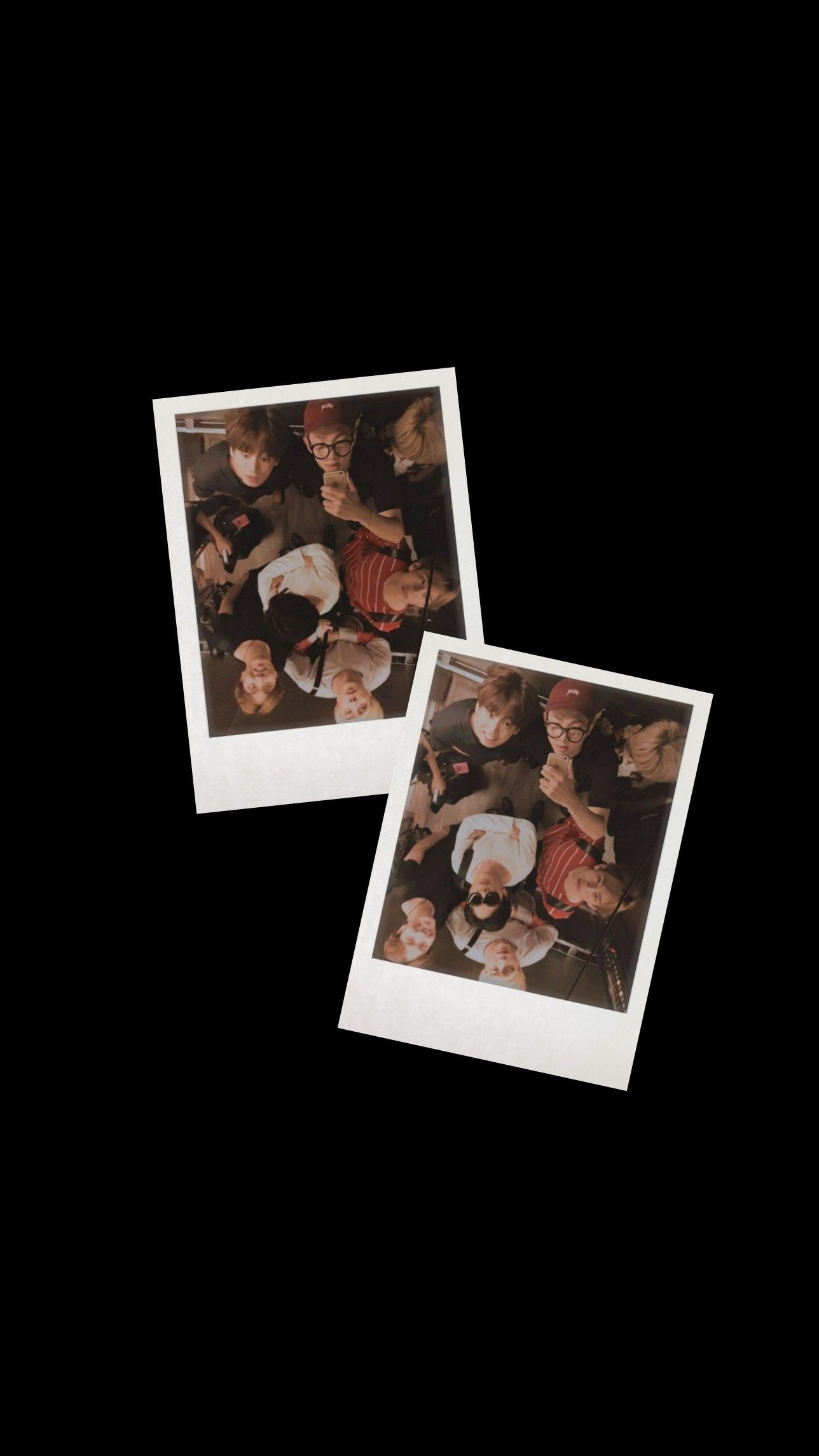 Bts Lockscreen Black Polaroid Bts Aesthetic Black Polaroid Rm Jin Suga J Hope Jimin Taehyung Jungkook Lockscreen Gambar Mata Gambar Bts Wallpaper bts estetik black