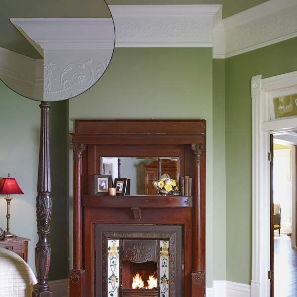 Crown Molding Design Ideas Fireplace Tilesfireplace Mantlesfireplacesthis Old Housecrown