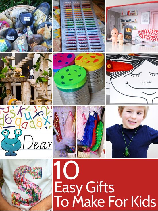 arrgghh christmas ten easy gifts to make for kids easy gifts