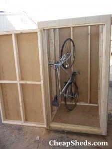 Vertical Bike Shed 17 Bike Shed Vertical Bike Bike Storage