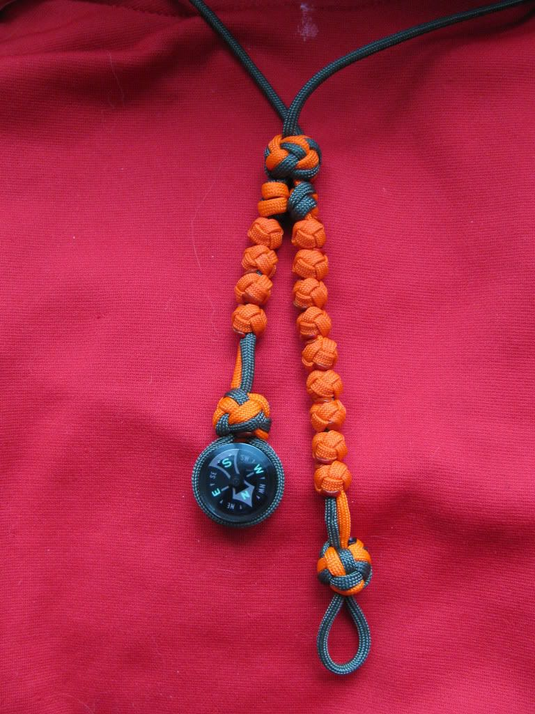 Side By Side Ranger Pace Counter Beads W Button Compass