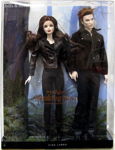 Bella Twilight Saga Breaking Dawn Part 2 Doll NEW Barbie Pink Label Collector