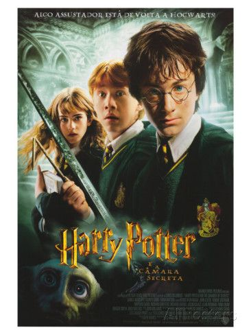 Harry Potter And The Chamber Of Secrets Brazilian Movie Poster