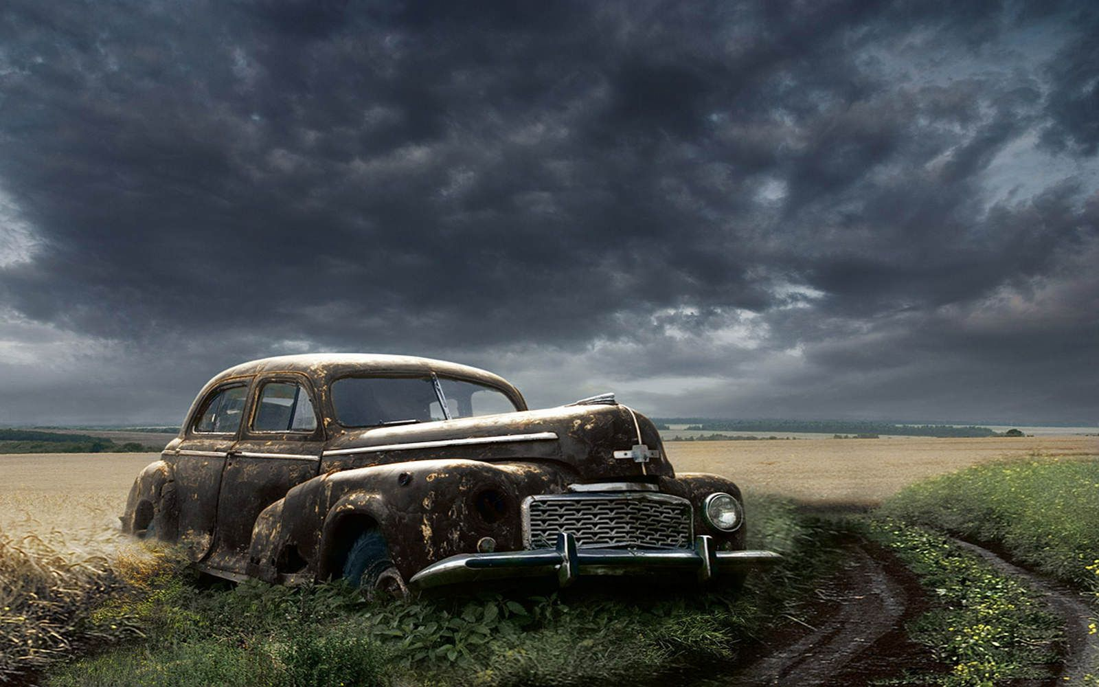 Old Abandoned Car Abandoned Cars Old Cars Car Wallpapers