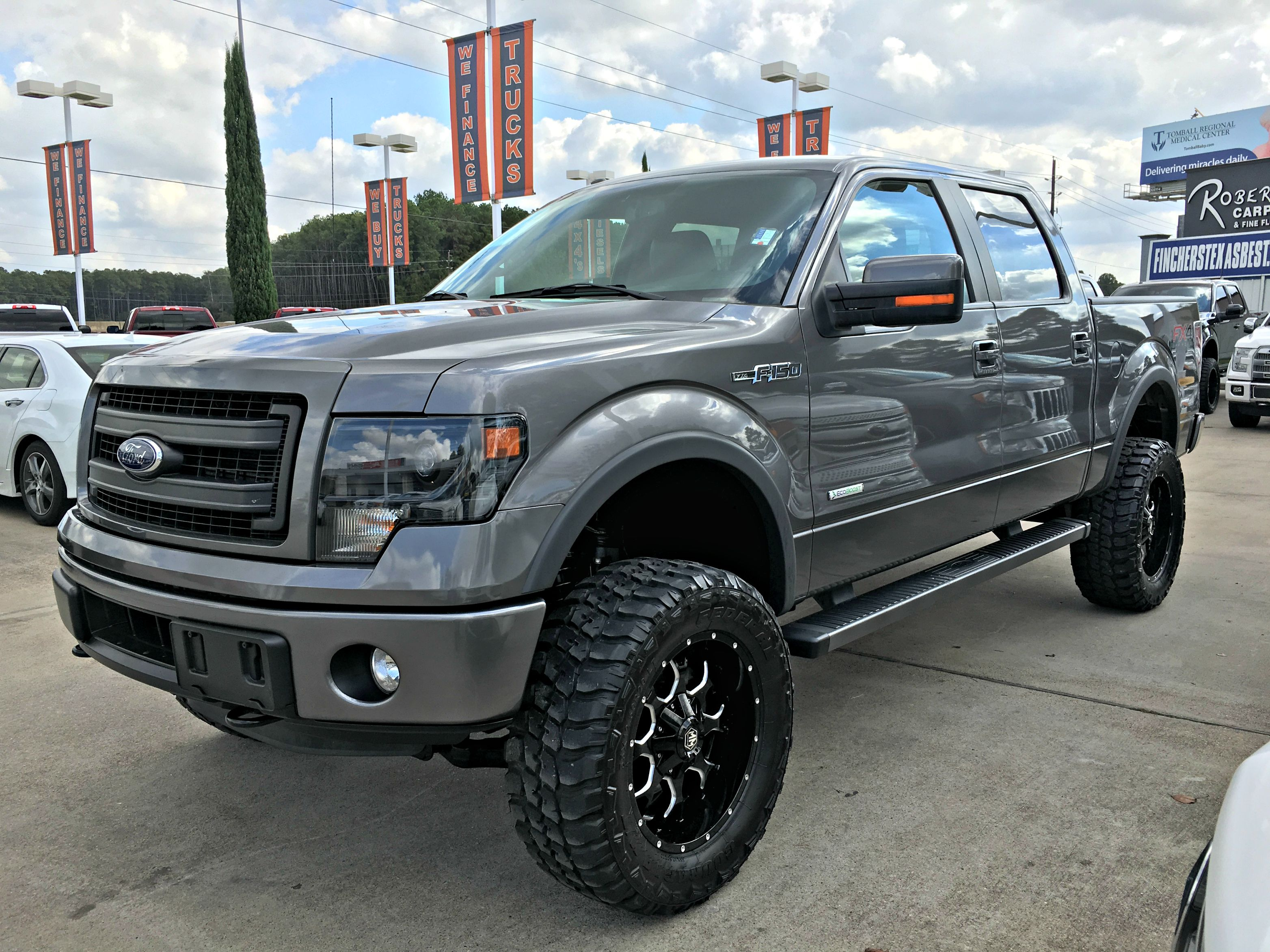 2014 ford f150 truck sterling gray metallic