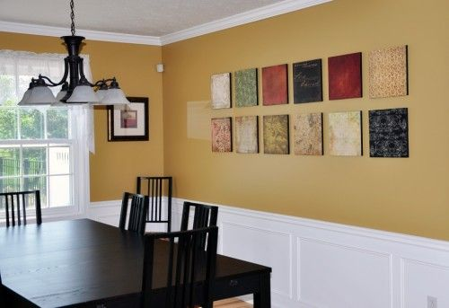 Sw Mannered Gold For Two Story Foyer Dining Room Colors