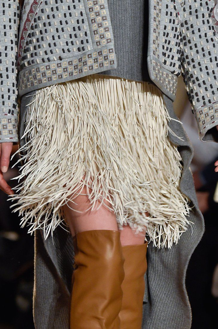 Pin for Later: You Won't Believe What the Clothes at Fashion Week Look Like Up Close BCBG Max Azria Fall 2015