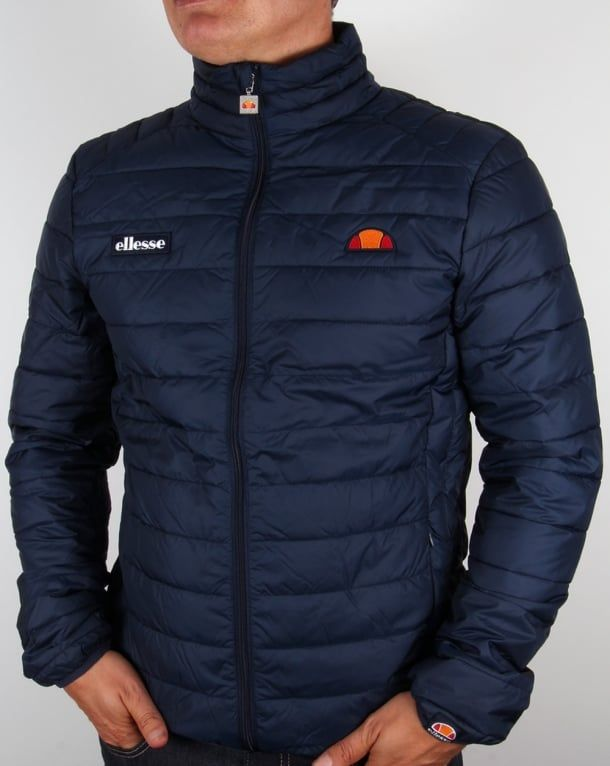 dda28c041c8 Ellesse Jacket Navy, Bubble, Funnel, Puffer,ski,coat, Francesco ...