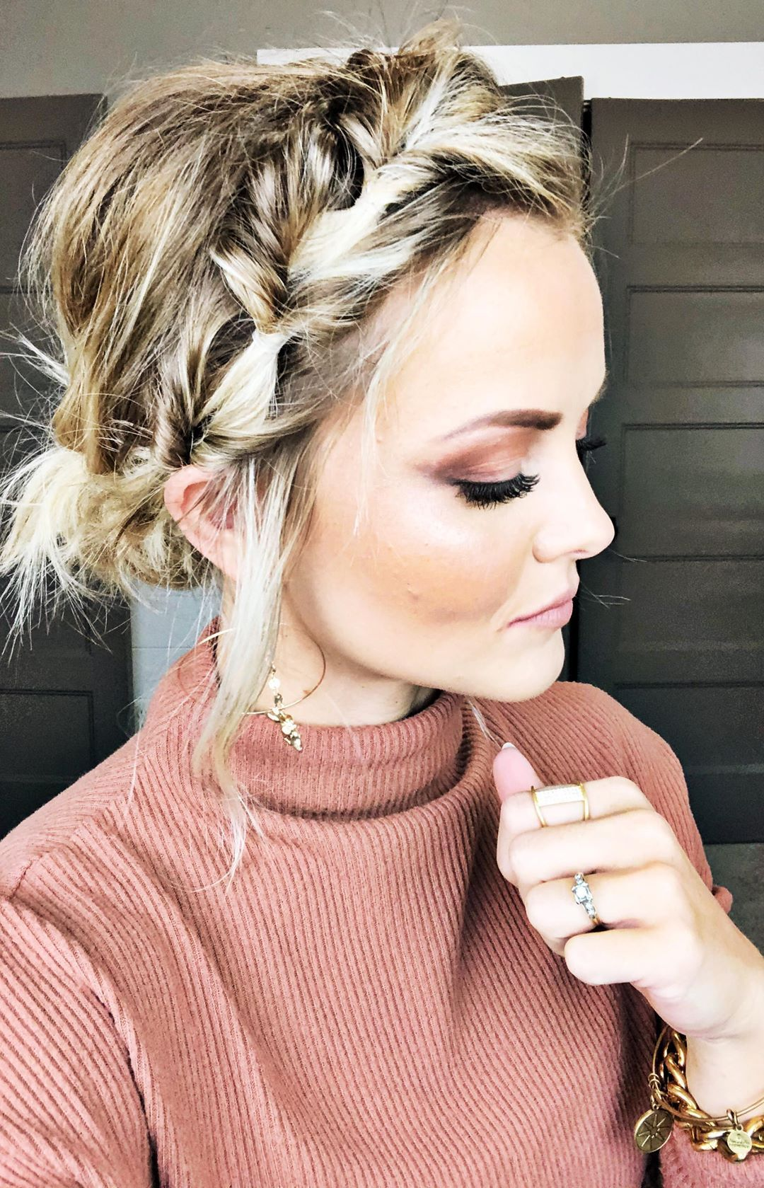 Harmony Beus On Instagram Don T You Ever Want A Hairstyle That Is Easy And Quick That Doesn T End Up In A Top No In 2020 Faux Braids Long Hair Styles Hair