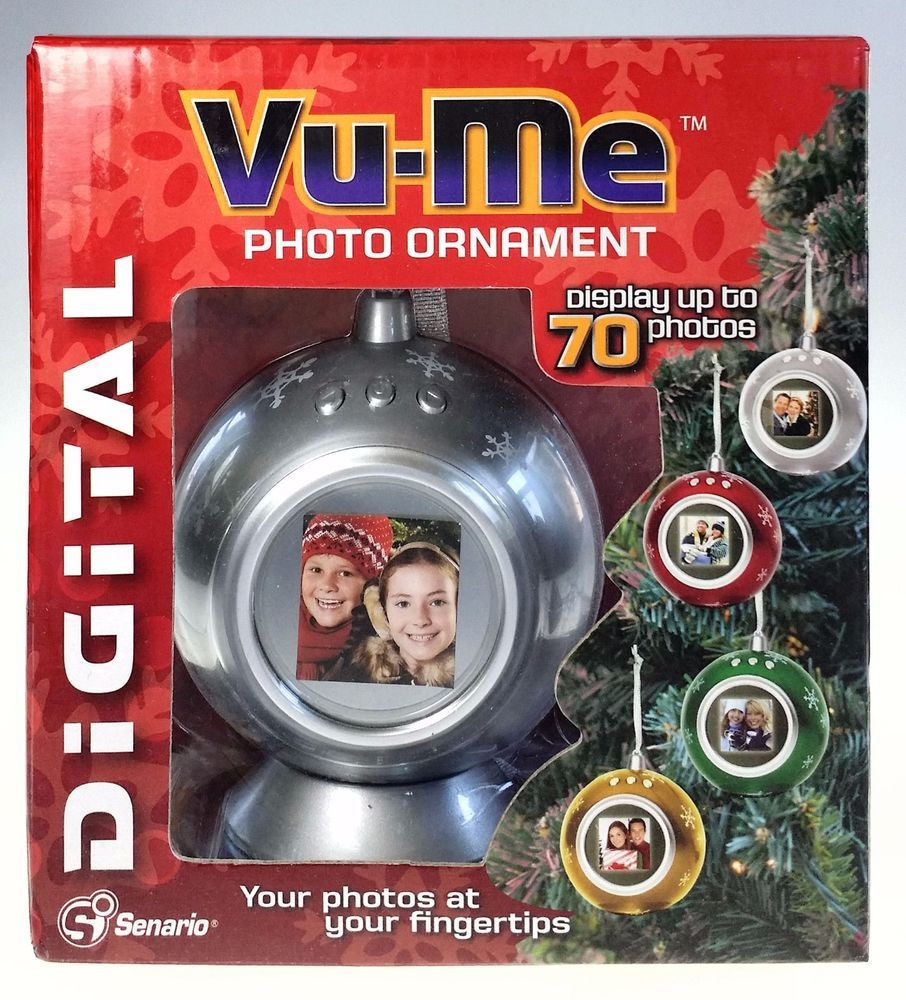 Vu Me Photo Ornament