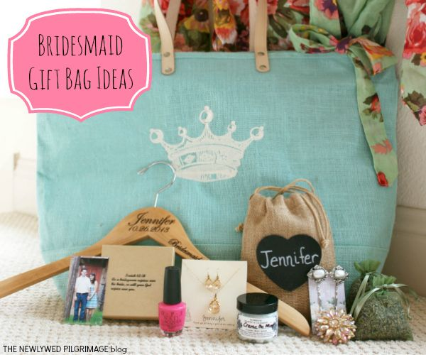 Bridesmaids Wedding Gifts: Bridesmaid Gift Bag Ideas: What's In The Bag?