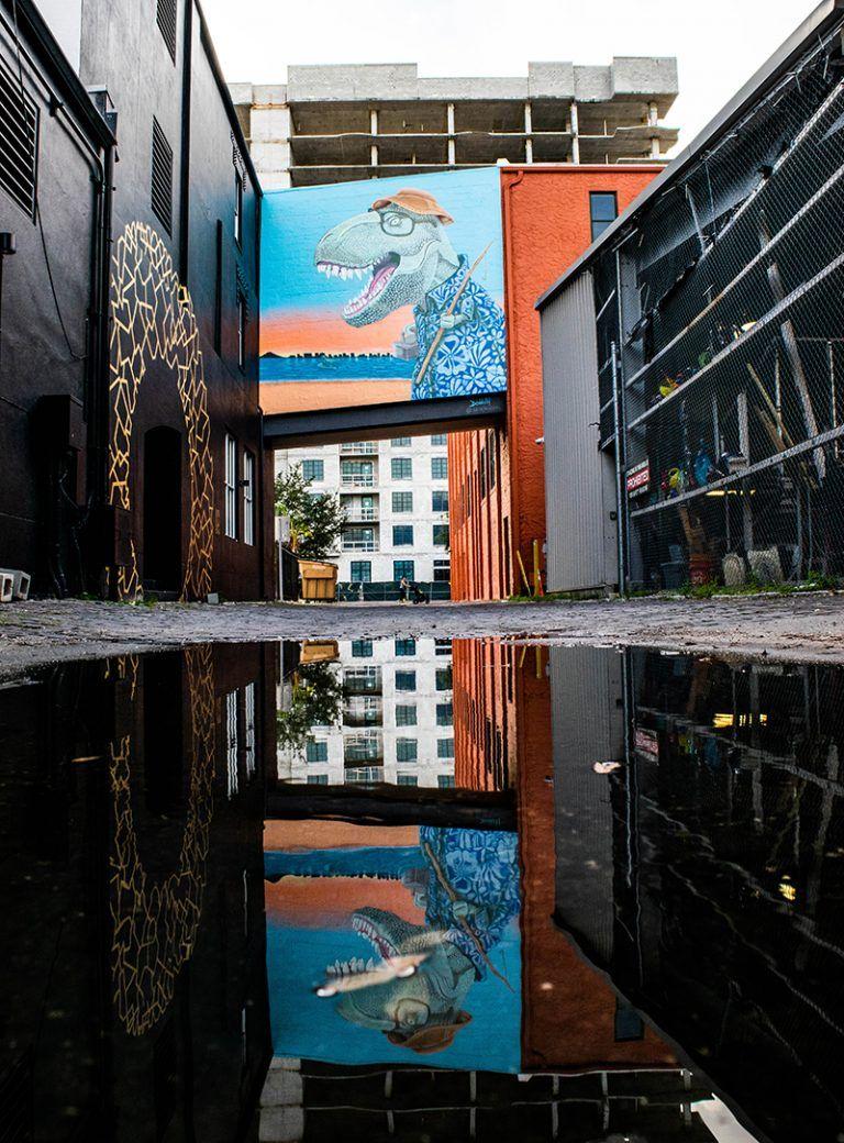 Urban mural tour in St Petersburg, Florida Petersburg