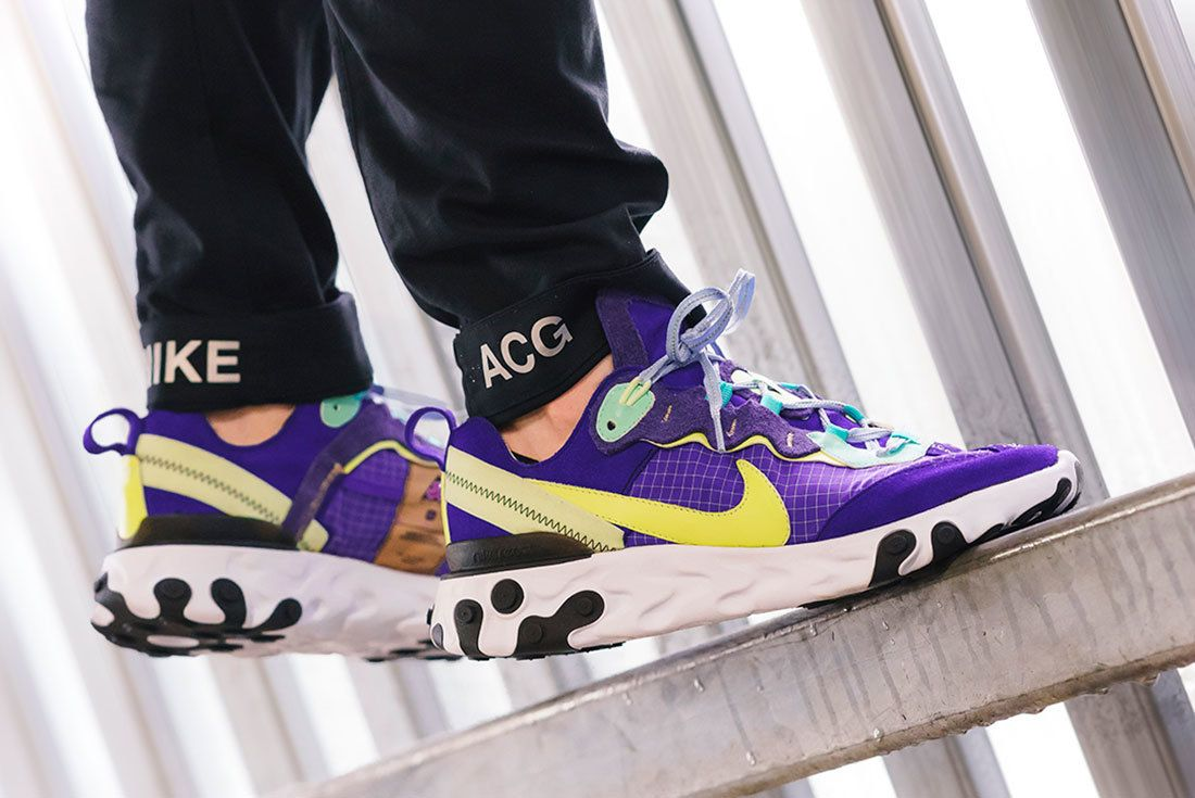 An On-Foot Look at BespokeIND s Nike ACG React Element 87 ... d74f76eec