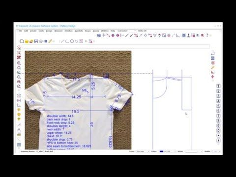 Drafting A T Shirt Sewing Pattern Based On Your Favorite Tee T Shirt Sewing Pattern Shirt Sewing Pattern Tshirt Pattern