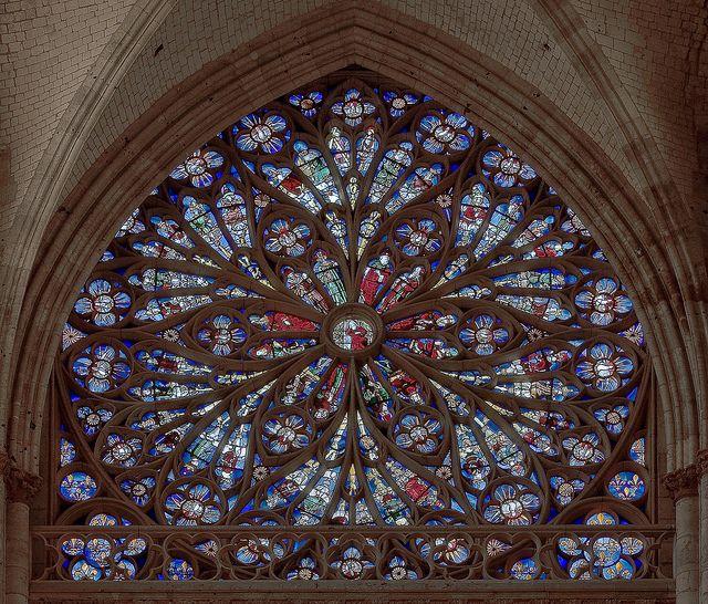Rouen Saint Ouen Abbey North Transept Rose Window By Stan Parry Via Flickr Rouen Sacred Architecture Rose Window