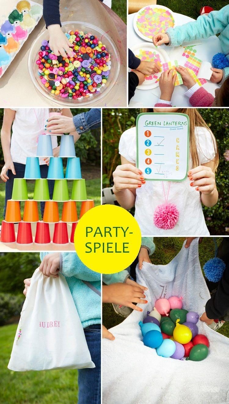 Kindergeburtstag im Freien Ideen für Partyspiele Check