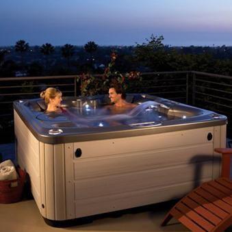 The Hot Spring Glow Has 270 Gallon Water Capacity Hot Tub Spa