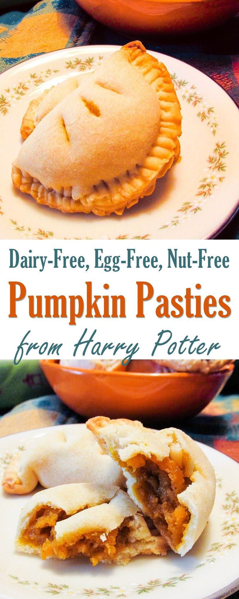 Vegan Pumpkin Pasties Recipe A Harry Potter Favorite Made Dairy Free Recipe Vegan Pumpkin Recipes Vegan Pumpkin Pasties Recipes