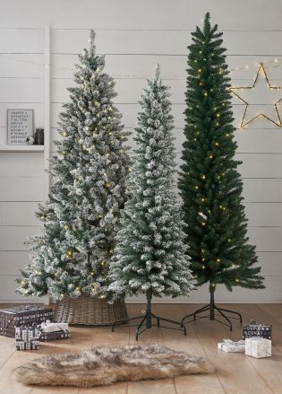 Buy Slim Vermont Snowy Christmas Tree 7ft From The Next Uk Online Shop Snowy Christmas Tree Christmas Tree Christmas Decorations Rustic