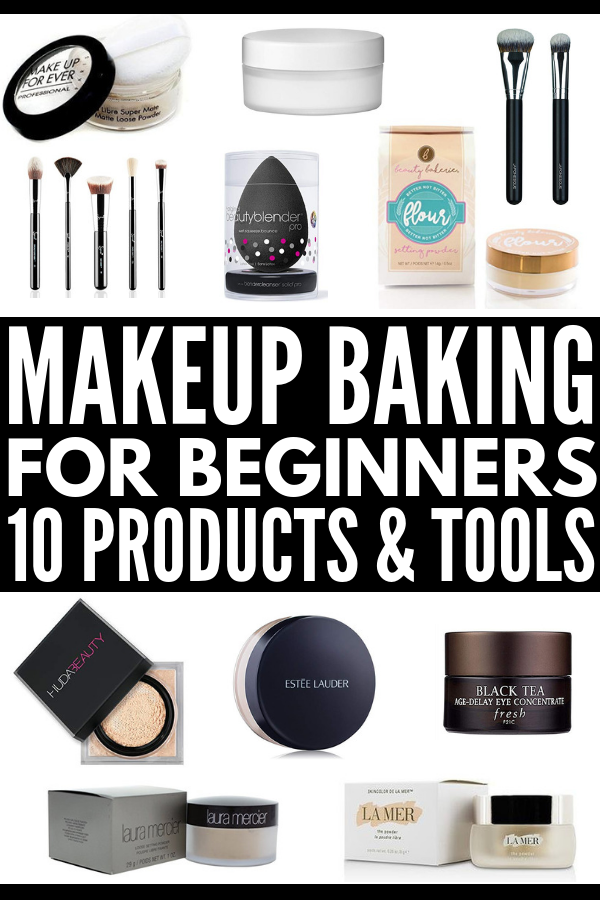 10 Makeup Baking Products for Beginners Whether you're