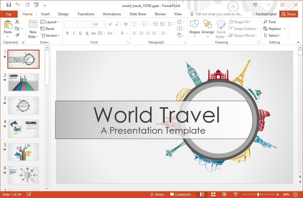 Powerpoint Templates Travel Travel Ppt Templates Free