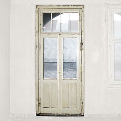 Alte Grunderzeit Loggia Doppelflugel Tur Oberlicht Sprossenfenster