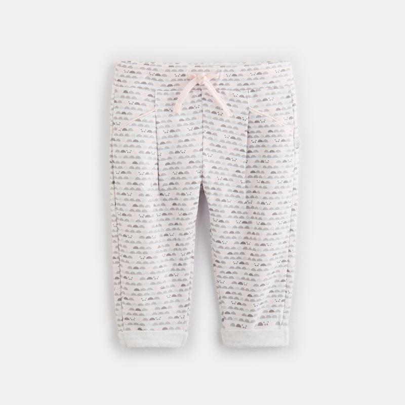 Jogpant molleton imprimé | Molleton, Chemise pull, Gilet jeans