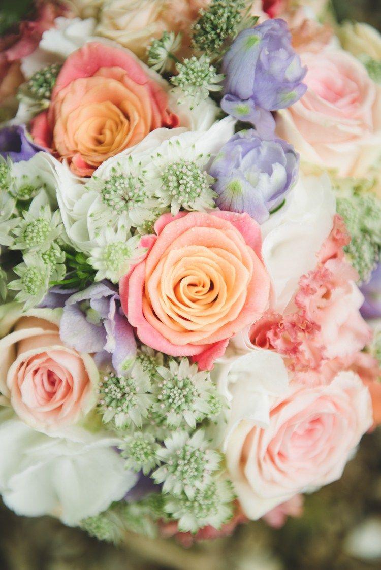 Pretty fresh pastel sparkly wedding purple lilac flower bouquet flowers izmirmasajfo Gallery