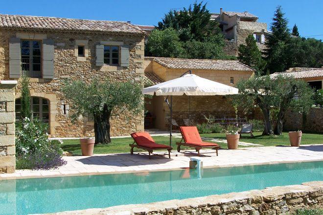 Le Mas De Foussargues Casas De Campo Casas Con Pileta Estilo Mediterraneo Casas
