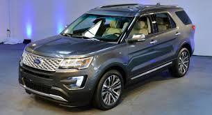 2016 Ford Explorer Limited Edition Ford Explorer Ford Explorer Sport 2020 Ford Explorer