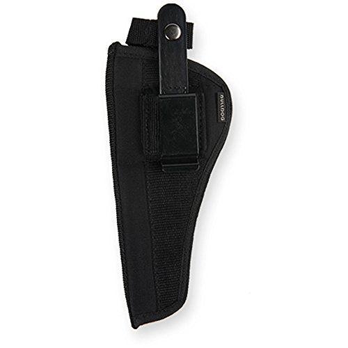 Bulldog Cases Belt and Clip Ambi Holster (Fits Most Revolvers with 3 – 4-Inch Barrels, S & W K,L,N & Taurus Judge)