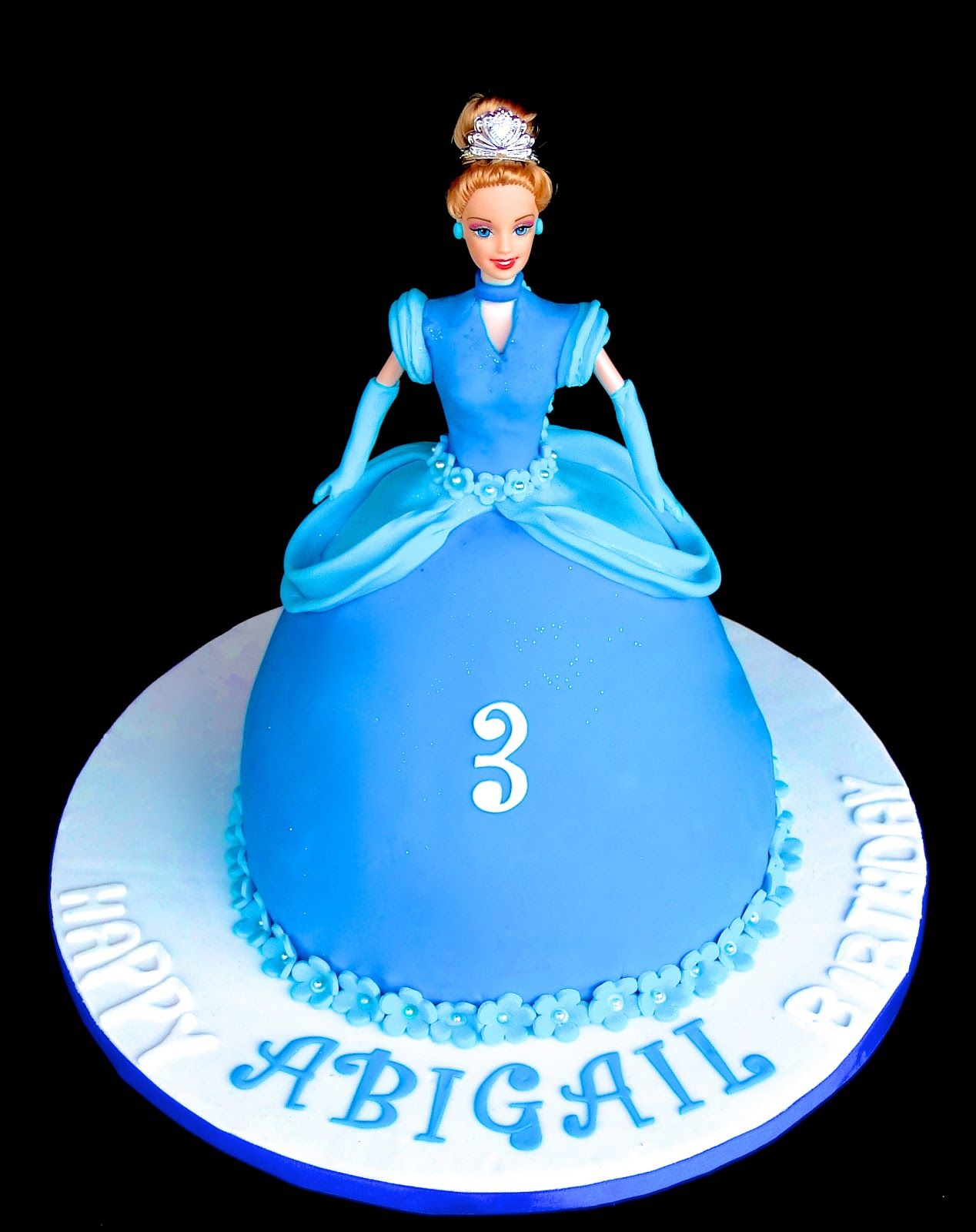 Fantastic Cinderella Birthday Cake Topper Avec Images Gateaux Cendrillon Funny Birthday Cards Online Overcheapnameinfo