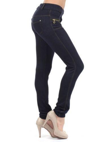 Black skinny jeans zipper pockets