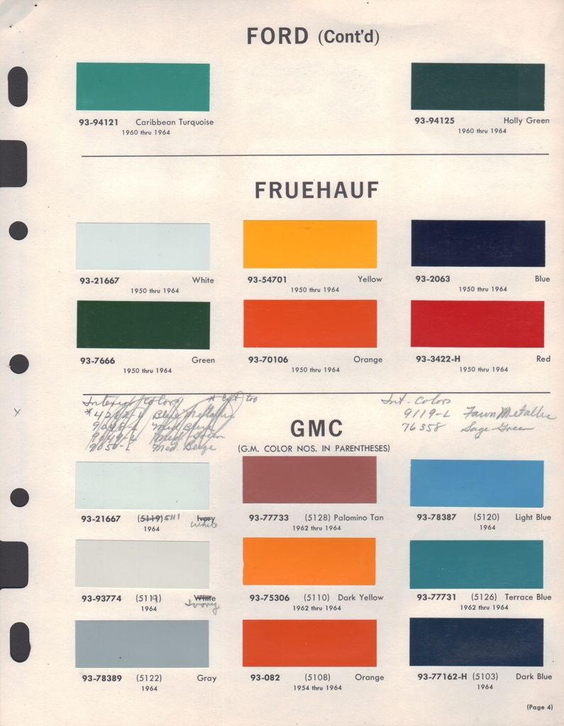 Paint chips 1964 ford truck paint pinterest paint chips paint chips 1964 ford truck nvjuhfo Choice Image