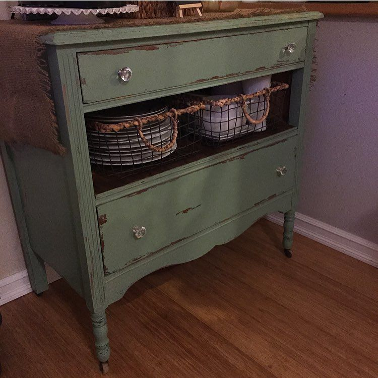 Lee Valley Kitchen Storage: Antique Dresser Missing One Drawer. Turned Into Coffee