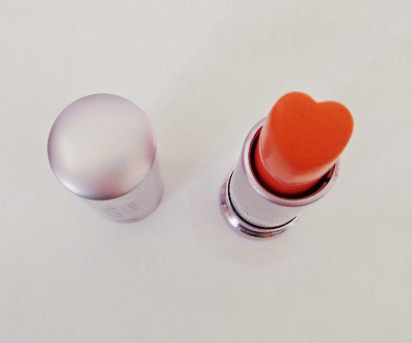"Rosalie & Violetta: Holika Holika ""Heartfuk Silky Lipstick""  #etudehouse #Beauty #Makeup #cosmetic #skincare #holikaholika #heart #lip #lipstick #orange"