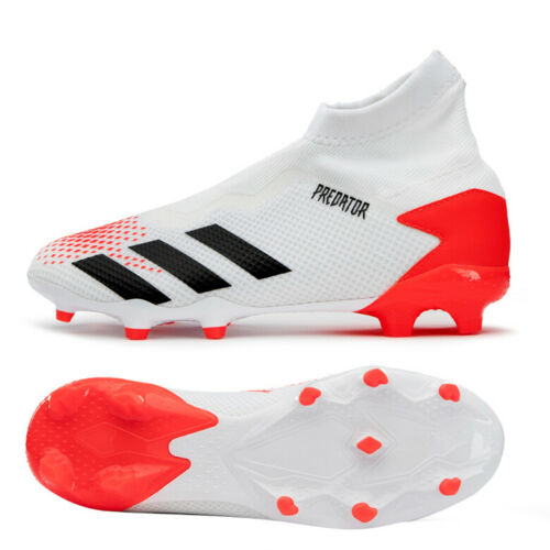 Adidas Predator 20 3 Ll Fg Football Boots Shoes Soccer Cleats White Eg0908 In 2020 Kids Soccer Shoes Soccer Cleats Soccer Cleats Nike