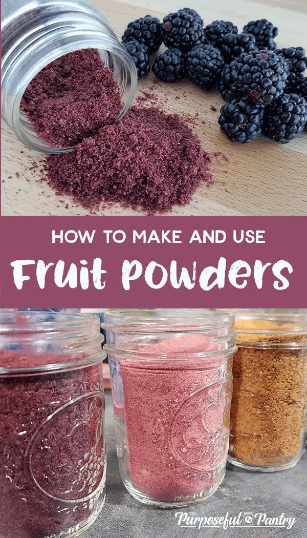 25+Ways to Use Fruit Powders | The Purposeful Pantry