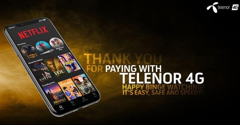 Telenor Pakistan Partners With Netflix Https Www Infozonepk Com