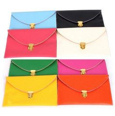 Envelope Clutch Bag with Chain $35