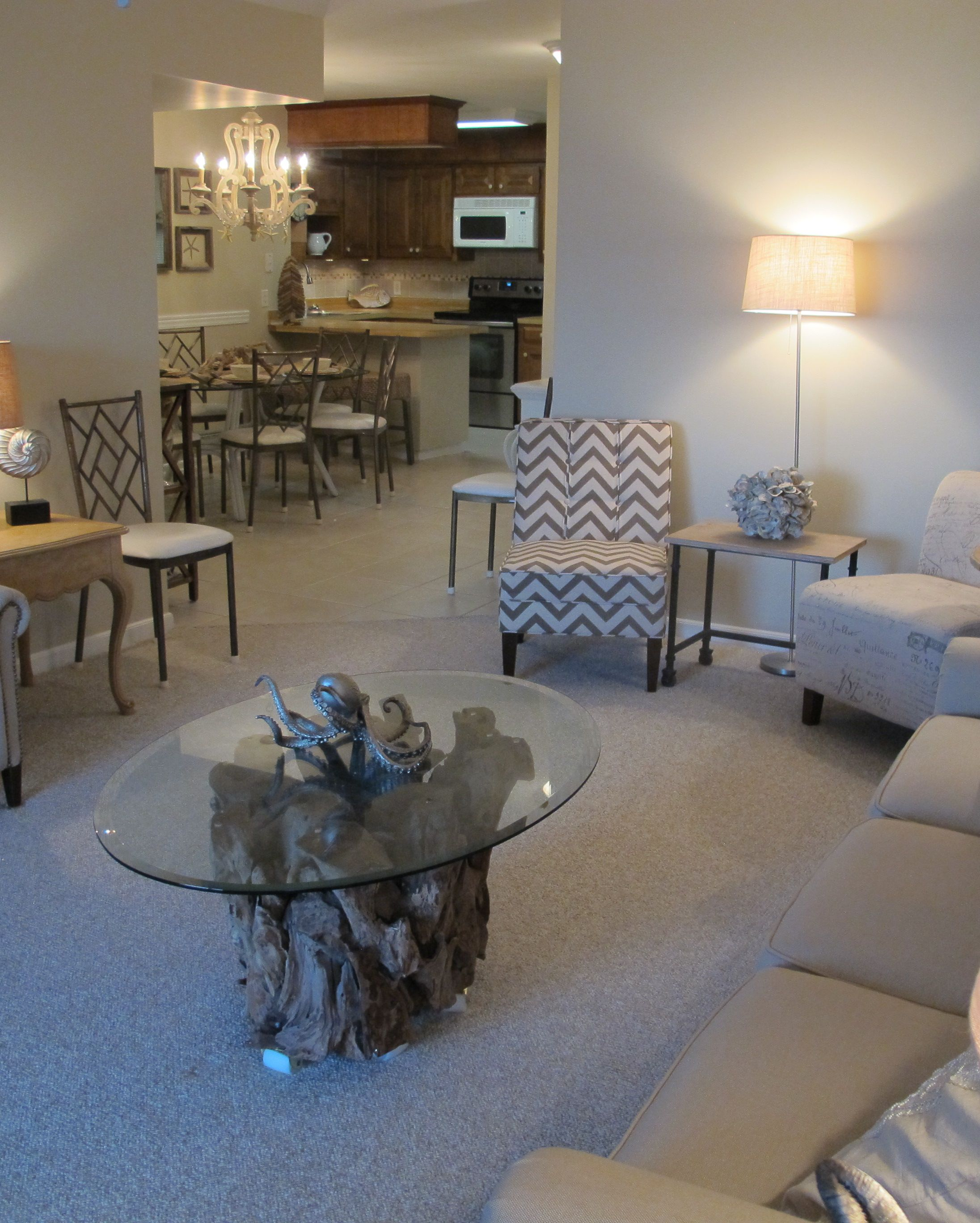 Pin By Terrie Stangasser Killoran On Beach House Driftwood Coffee Table Coffee Table Dining Room Chairs