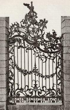 Antique Iron Garden Gates Google Search Wrought Iron Gates
